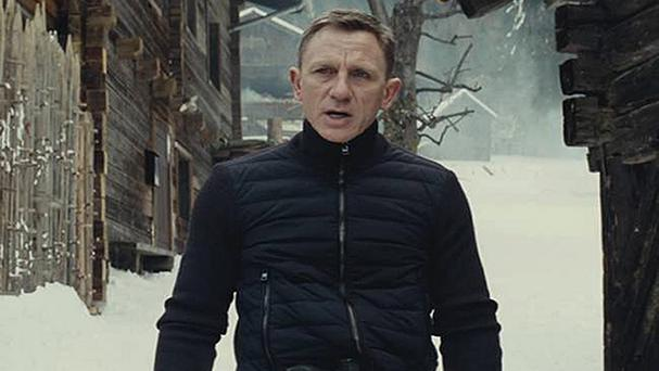 Spectre, starring Daniel Craig, is due for release on October 26