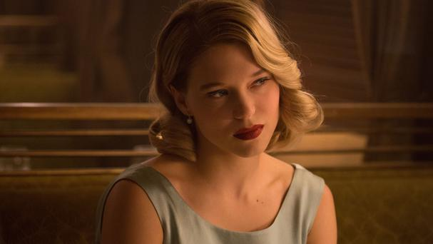 Lea Seydoux in the latest James Bond film Spectre. Bond girls Monica Bellucci and Seydoux have given a glimpse of their characters in the new film.