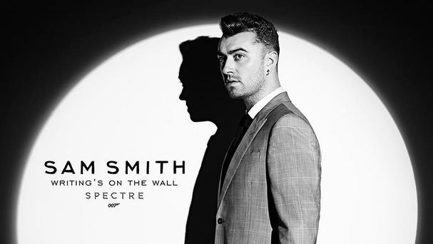 Brit-award winning singer Sam Smith is the voice of the new Bond theme song, Writing's On The Wall
