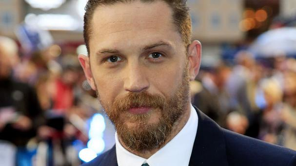 Tom Hardy attending the Legend world premiere in London
