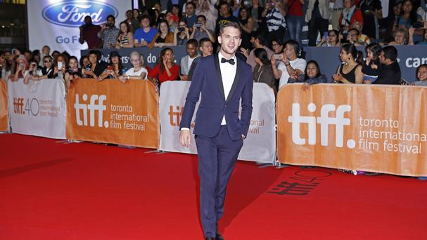 Jeremy Irvine attends the world premiere of Stonewall in Toronto (AP)