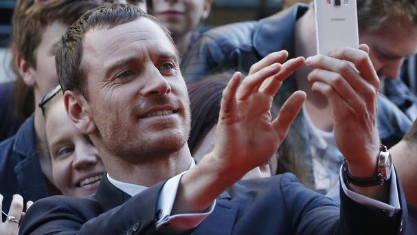 Michael Fassbender attends the UK premiere of Macbeth at the Festival Theatre in Edinburgh