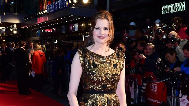 Geena Davis called on writers and directors to recognise the impact of gender representation on children