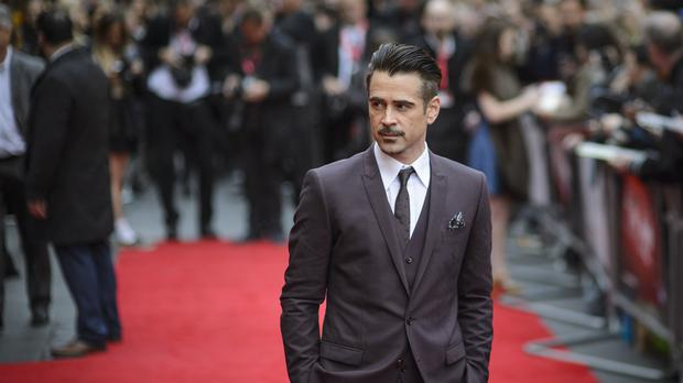 Colin Farrell attending the official screening of The Lobster during the 59th BFI London Film Festival at Vue West End, Leicester Square, London