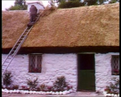 How the cottage looked during filming
