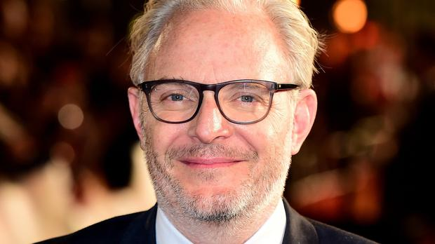 Francis Lawrence attending the UK Premiere of The Hunger Games: Mockingjay, Part 2.