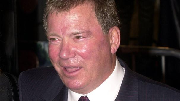 William Shatner played Captain Kirk in Star Trek
