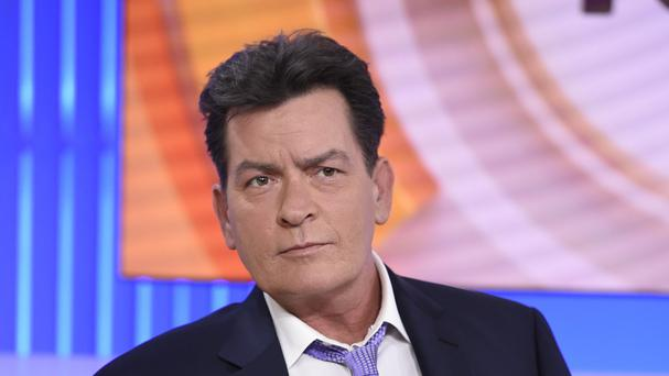 Charlie Sheen said he tested positive four years ago for the virus that causes Aids. (Peter Kramer/NBC via AP)