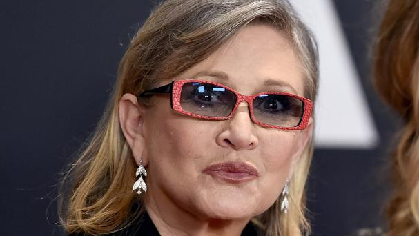 Carrie Fisher first played Princess Leia 38 years ago (Jordan Strauss/Invision/AP)