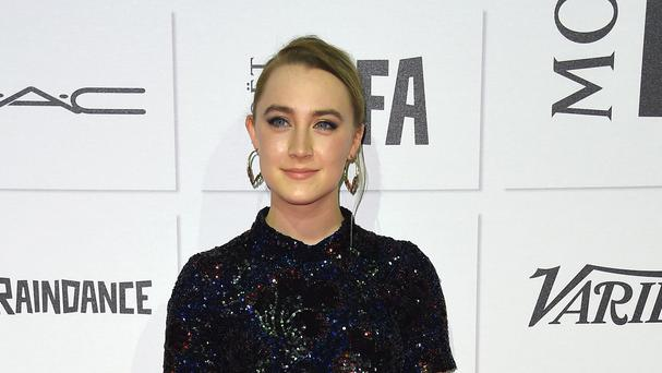 Saoirse Ronan arrives at the British Independent Film Awards 2015. (AP)