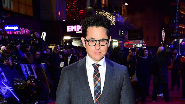 JJ Abrams at the Star Wars: The Force Awakens European premiere in London