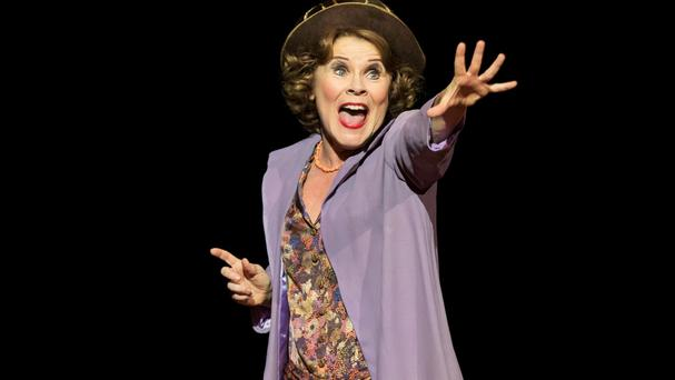 Imelda Staunton - seen here in Gypsy - has been honoured for her theatrical work