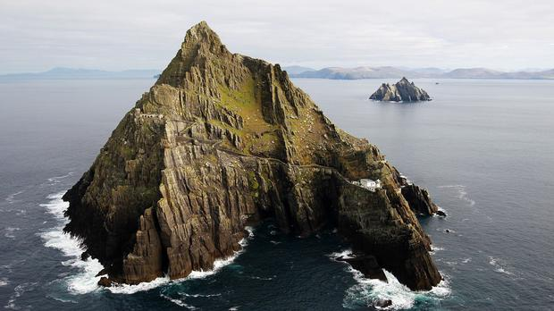 The Skellig Michael islands were used in the new Star Wars movie