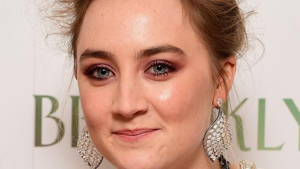 Saoirse Ronan is in the running for best actress