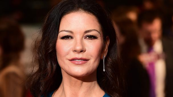 Catherine Zeta-Jones at the world premiere of Dad's Army at the Odeon Leicester Square, London