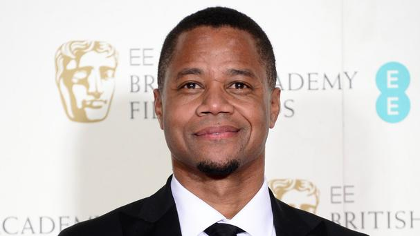 Cuba Gooding Jr, pictured, plays OJ Simpson in The People v OJ Simpson: American Crime Story