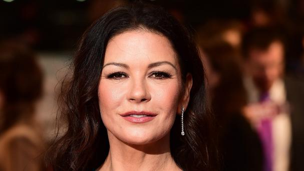 Catherine Zeta-Jones is currently starring in Dad's Army