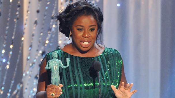 Uzo Aduba won the outstanding female actor in a comedy series gong for Orange Is The New Black (Invision/AP)