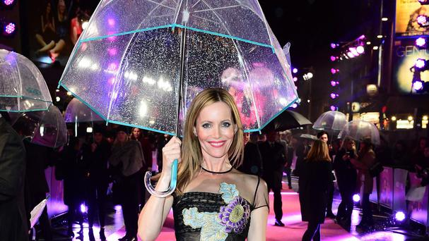 Leslie Mann at the European premiere of How To Be Single