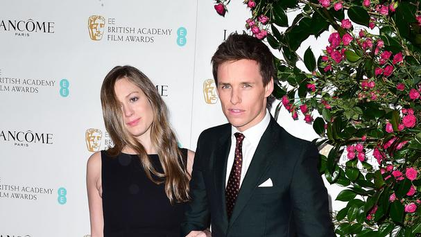 Hannah Bagshawe and Eddie Redmayne arriving at the Lancme British Academy Film Awards Nominees Party