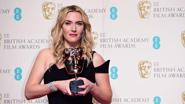 Bafta's Best Supporting Actress Kate Winslet dedicated her award to young women who have been put down by teachers, friends and parents