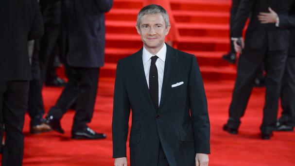 Martin Freeman is in the running for an accolade at the British Animation Awards