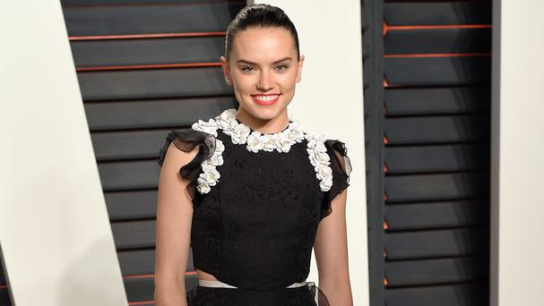 Daisy Ridley has dismissed criticism on social media that she is too thin
