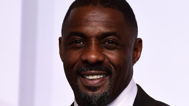 Idris Elba picked up his OBE