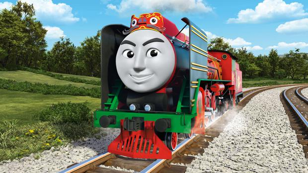 Yong Bao of China in Thomas And Friends: The Great Race (Mattel, Inc/PA)