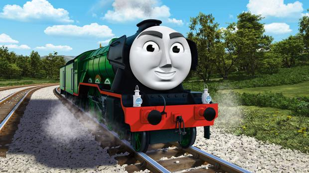 Flying Scotsman, who features in Thomas And Friends: The Great Race (Mattel, Inc/PA)