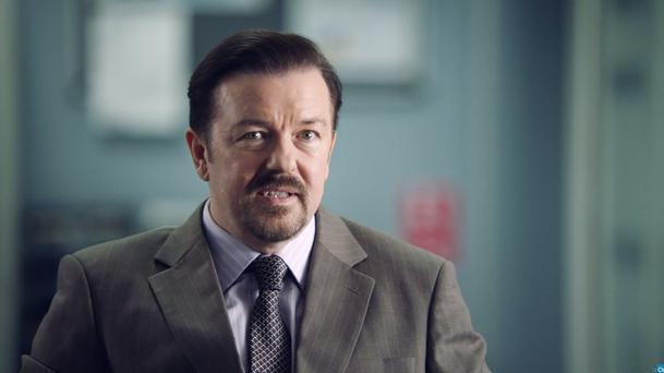 Ricky Gervais's popular TV character David Brent launches a music career in the film Life On The Road (Entertainment One UK/PA)