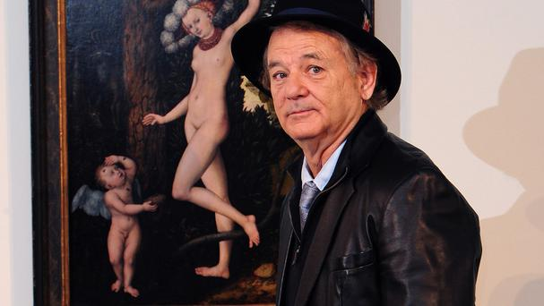 Bill Murray voices bear Baloo in The Jungle Book