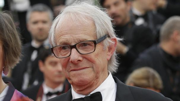 Director Ken Loach won the Palme D'Or at the Cannes Film Festival for his latest film, I, Daniel Blake (AP)