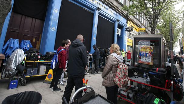 Filming of Trainspotting 2 is under way in Edinburgh