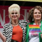 Jennifer Saunders (right) and Joanna Lumley (left) are appearing in an Absolutely Fabulous film
