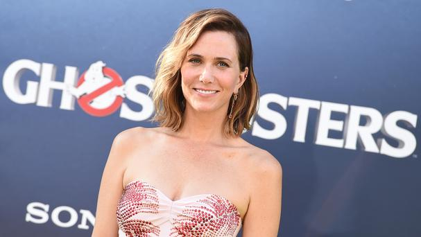 Kristen Wiig arrives at the Los Angeles premiere of Ghostbusters (AP)