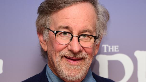 Steven Spielberg knew of the BBC's Blue Peter since he shot a movie in Britain in 1980