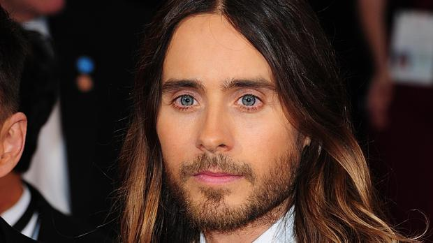 Jared Leto plays the Joker in Suicide Squad
