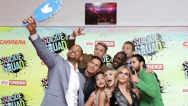 Will Smith (far left) admits keeping up the 20-somethings during the filming of Suicide Squad left him wanting a nap
