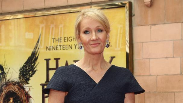 JK Rowling at the opening gala performance of Harry Potter And The Cursed Child - the author made £14.2 million in the past year