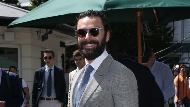 Aidan Turner has said talking about the coveted role seemed to be the