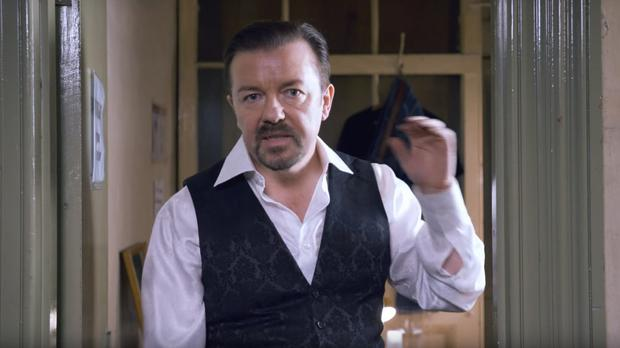 Ricky Gervais in David Brent: Life On The Road (Entertainment One UK/PA)