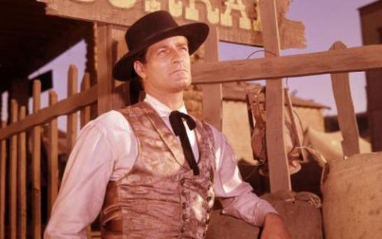 LAWMAN: Hugh O'Brian in the TV series 'The Life and Legend of Wyatt Earp'. Photo: Disney ABC Television Group