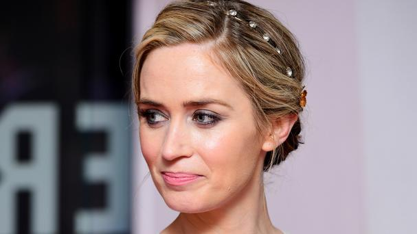 Emily Blunt attending the world premiere of The Girl On The Train