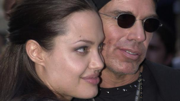 Actress Angelina Jolie and Billy Bob Thornton, pictured in 2002 when they were still married.