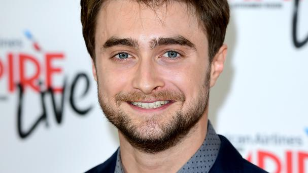 Daniel Radcliffe joked to reporters that he would consider presenting the baking show with Paul Hollywood and the corpse character he plays in one of his two new films