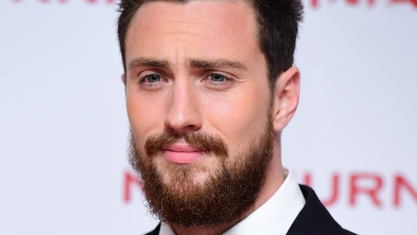 Aaron Taylor-Johnson at the screening of Nocturnal Animals