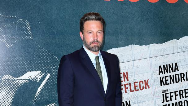 Ben Affleck at the European premiere of The Accountant at Cineworld in Leicester Square, London