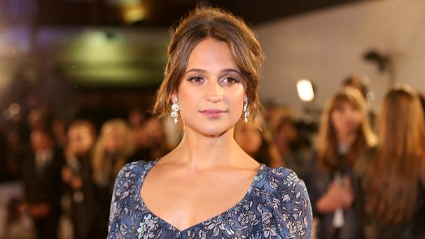Alicia Vikander, who won an Academy Award for her role in The Danish Girl