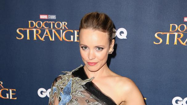 Rachel McAdams attending the Dr. Strange UK Launch Event held at The Cloisters at Westminster Abbey in London.